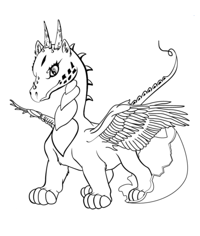 svg royalty free library Coloring pages free . Drawing printables dragon
