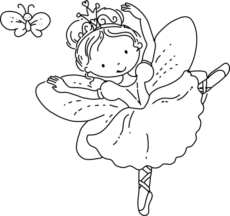 picture royalty free download Drawing printables fairy. Princess coloring pages png