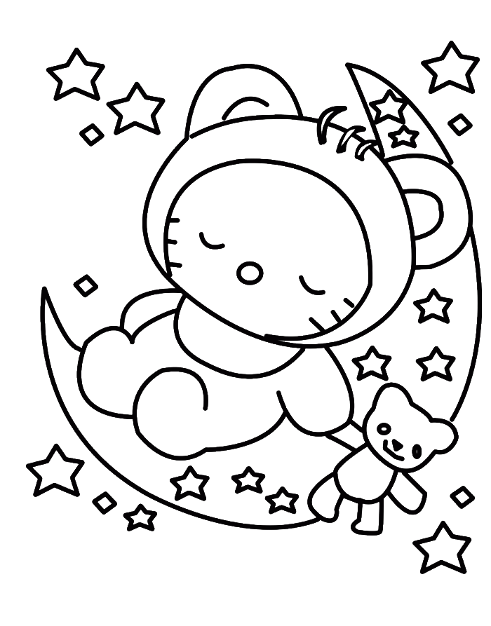 graphic free stock Face at getdrawings com. Drawing printables hello kitty