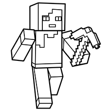 picture black and white  awesome printable coloring. Drawing printables minecraft