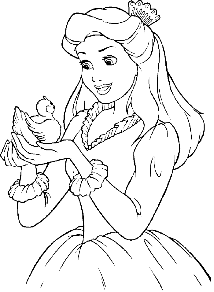 image stock Collection of free pages. Drawing printables princess