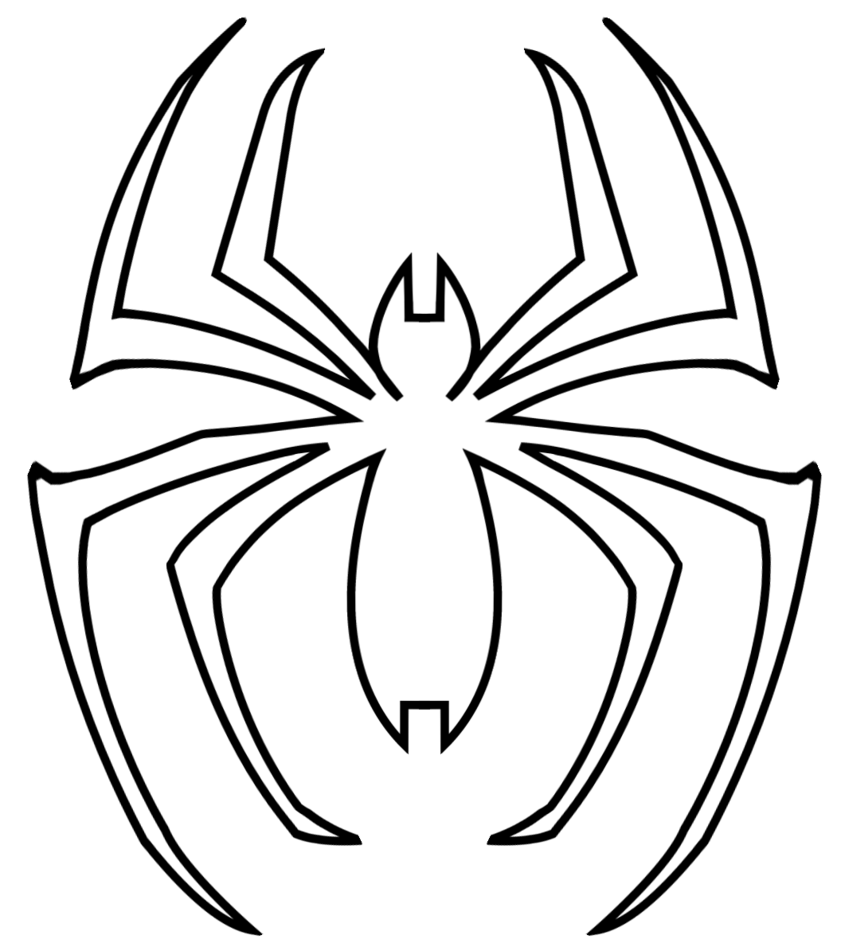 clip art transparent library Logo at getdrawings com. Drawing printables spiderman