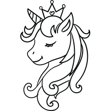 graphic royalty free Drawing printables unicorn. Top free printable coloring