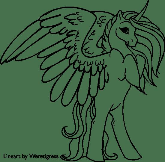 banner free stock Gambar printable coloring pages. Drawing printables unicorn