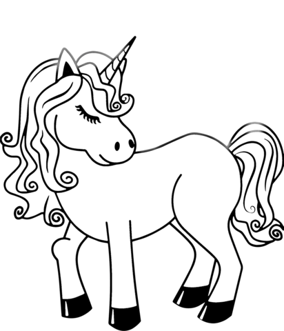 clip art library stock Drawing printables unicorn. Coloring page free printable