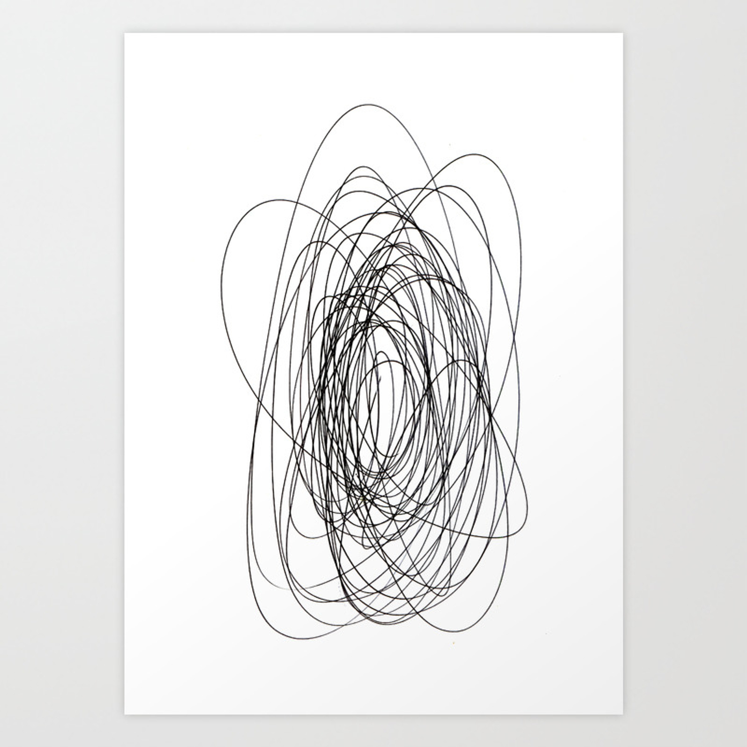 graphic free library Drawing prints abstract. Scrawl art print