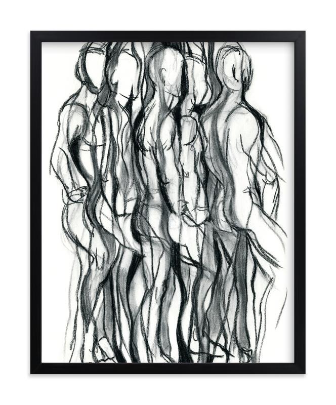 image royalty free  turn charcoal art. Drawing prints abstract