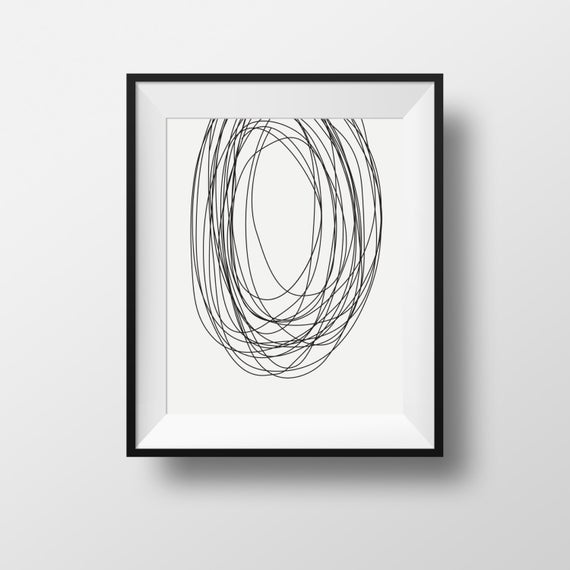 graphic transparent Scribble wall art black. Drawing prints abstract