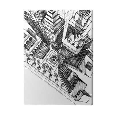 clip royalty free Top view of a. Drawing prints architecture