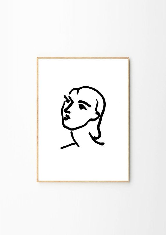 image black and white Drawing prints matisse. Print poster henri