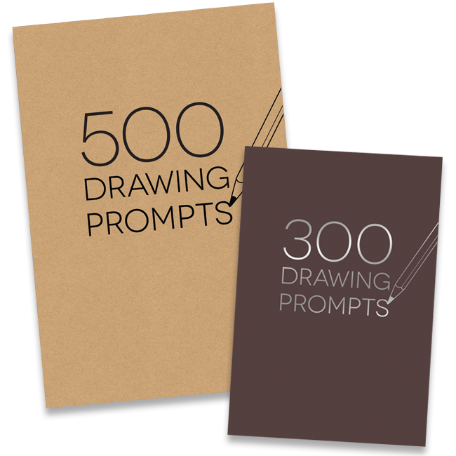 image royalty free library Drawing randomizer sketchbook.  prompts
