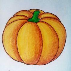 clip drawing pumpkins color #134804896
