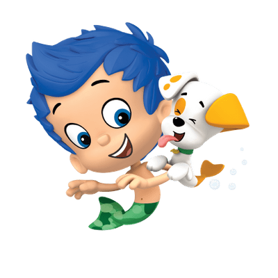 clip art library library Bubble Guppies transparent PNG images