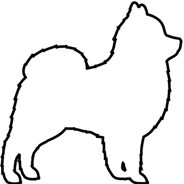 picture library Pomeranian Outline Drawing at GetDrawings