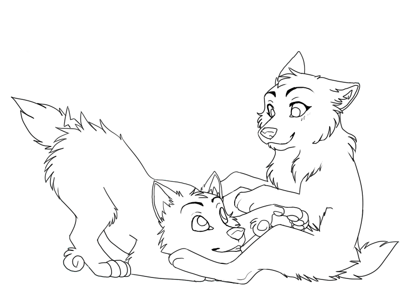 svg download Wolf Pup Drawing at GetDrawings