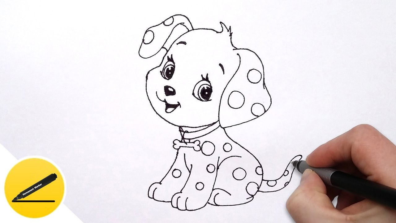 vector free How to Draw a Dog