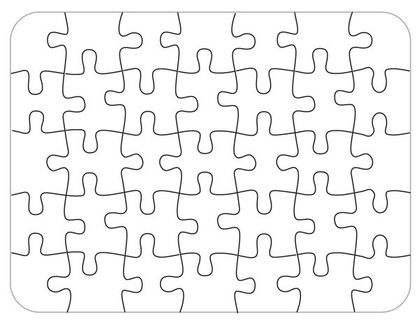 graphic free library Bare Blank Puzzle