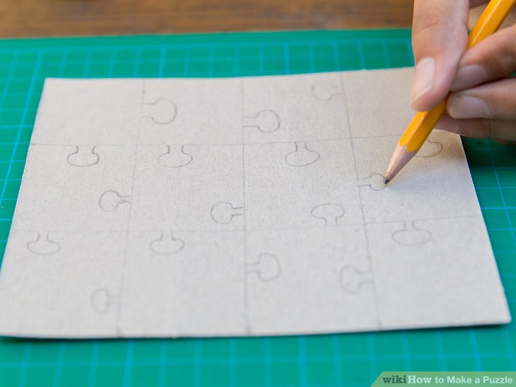 vector free stock How to Make a Puzzle