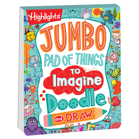 clipart download Jumbo Pad of Things to Imagine