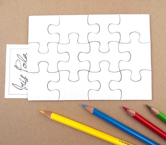 clip royalty free stock DIY Plain Puzzle Draw on Me Art Kids Educational Games
