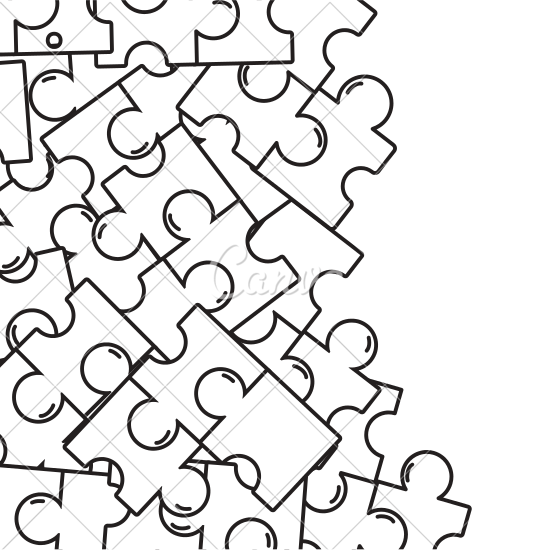 royalty free download Puzzle Pieces Drawing at GetDrawings