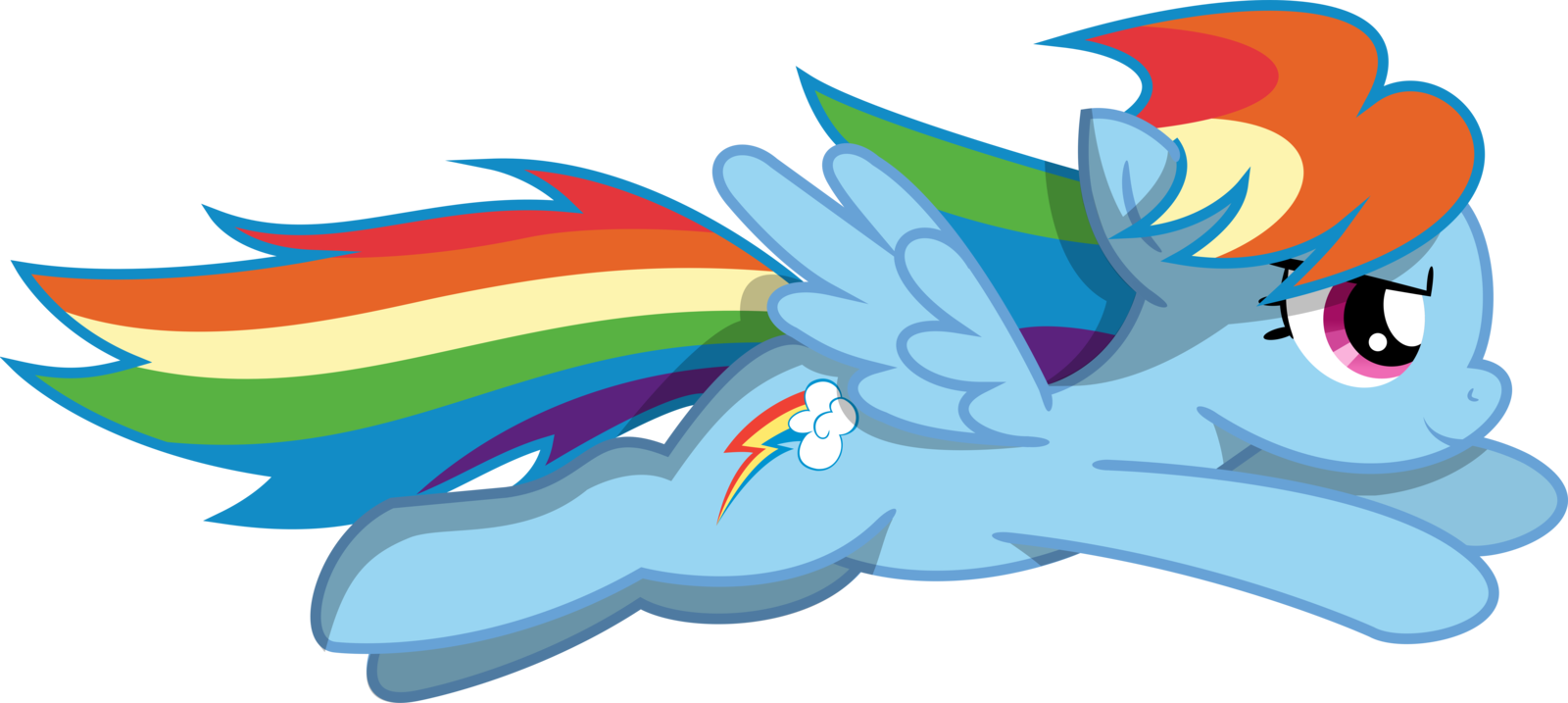 svg freeuse library Rainbow dash pony flight. Drawing rainbows cloud