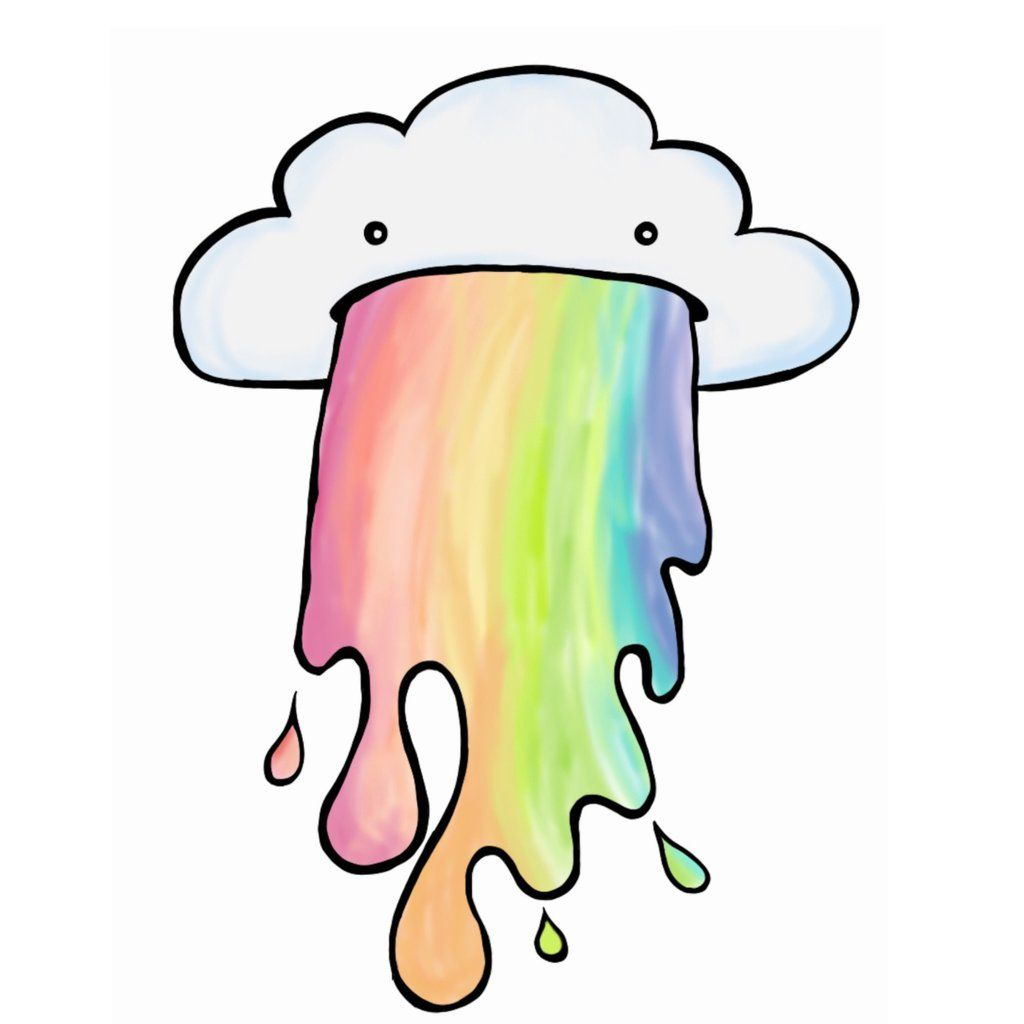 banner free download Drawing rainbows cloud. Puking by kittykatmeow in