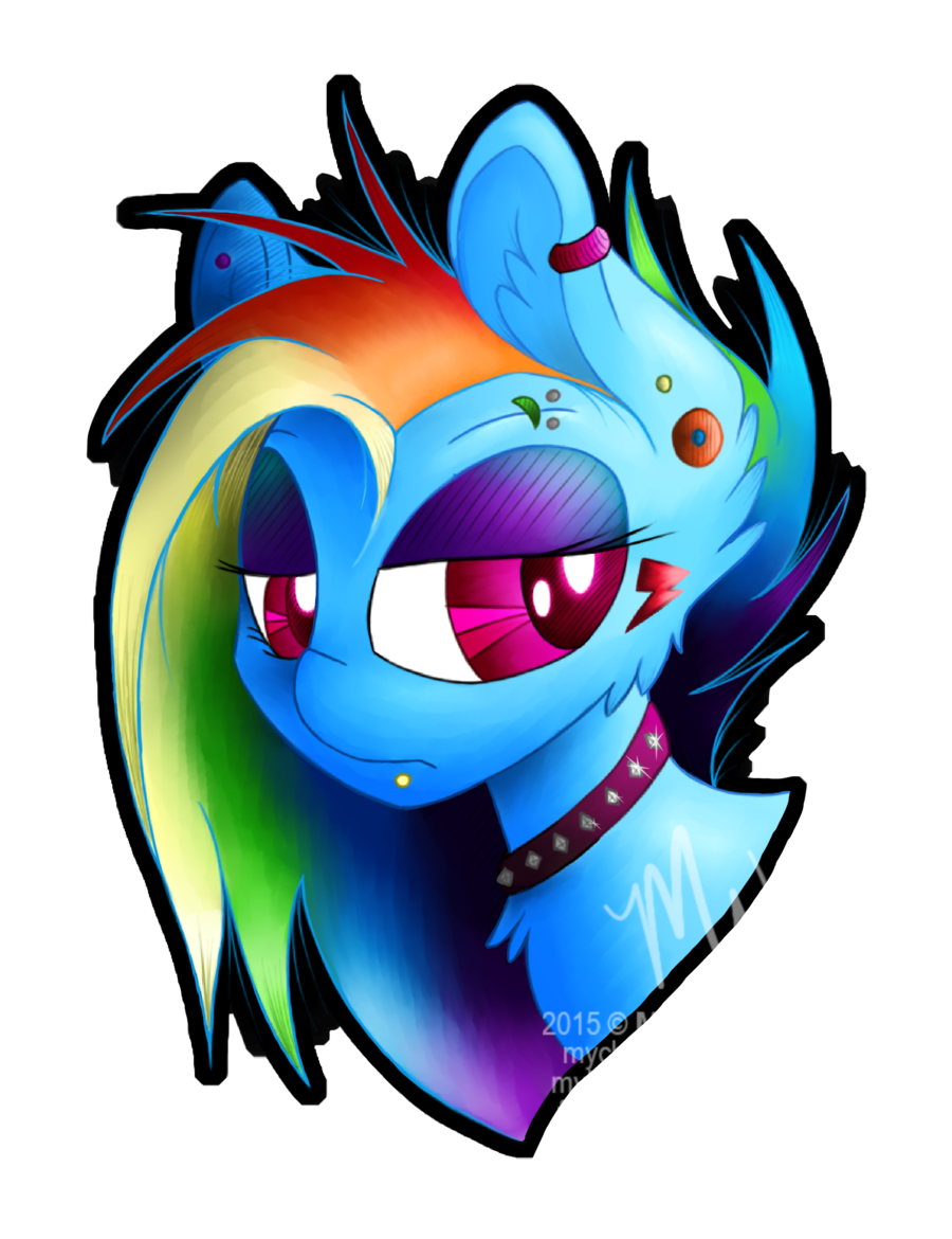 picture free download Drawing rainbows emo. Rainbowdash by rainbowhitter on