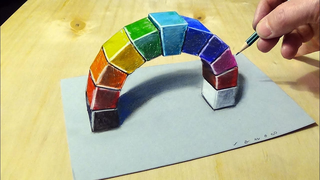clipart transparent download A rainbow arch d. Drawing rainbows illusion