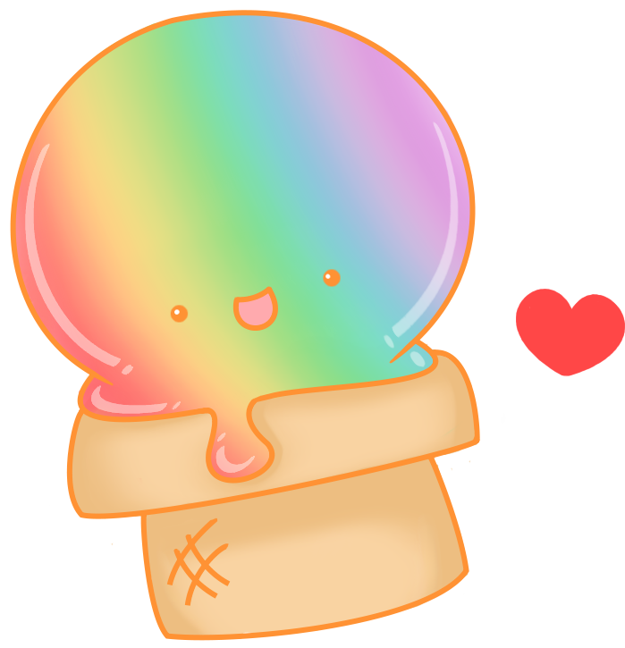 clip freeuse download Uber icecream by squishmuffin. Drawing rainbows kawaii