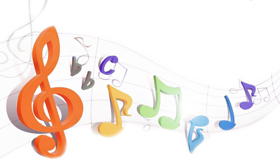 image drawing rainbows music note #112152708