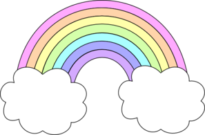 svg download Drawing rainbows pastel. Rainbow clip art er