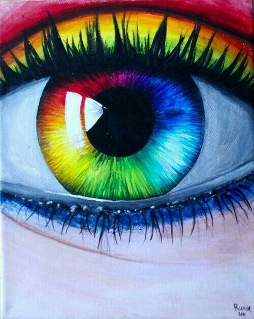 banner stock Drawing rainbows realistic. Pin on drawings paintings