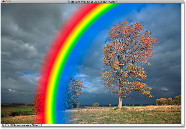 picture library library Add a rainbow to. Drawing rainbows realistic