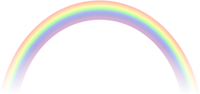 vector royalty free library  real rainbow png. Drawing rainbows realistic