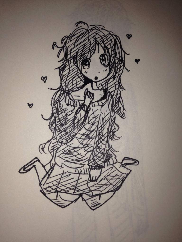 jpg black and white download And cool drawings anime. Drawing random cute