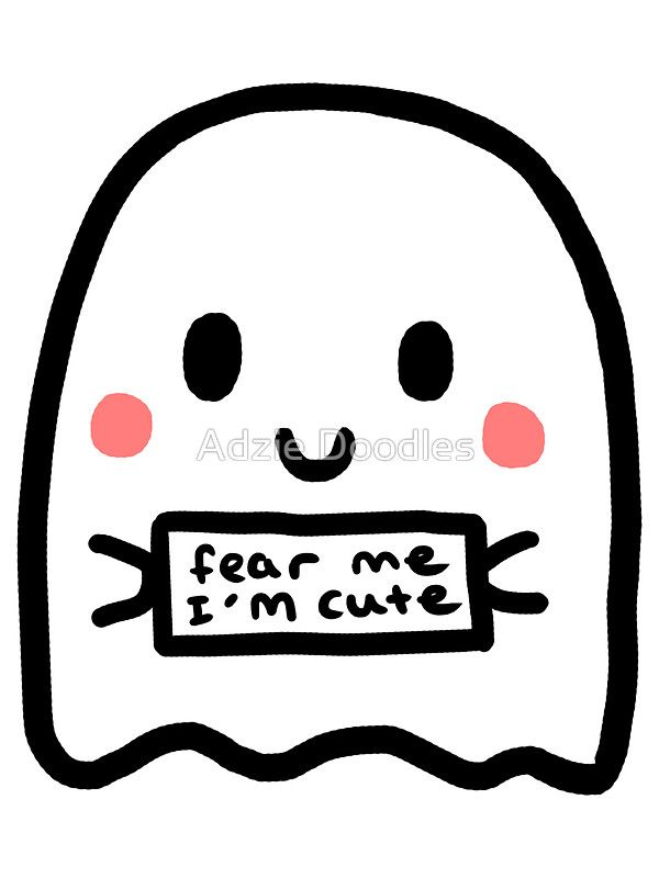 jpg transparent stock Drawing random cute. Ghostie sticker by ade