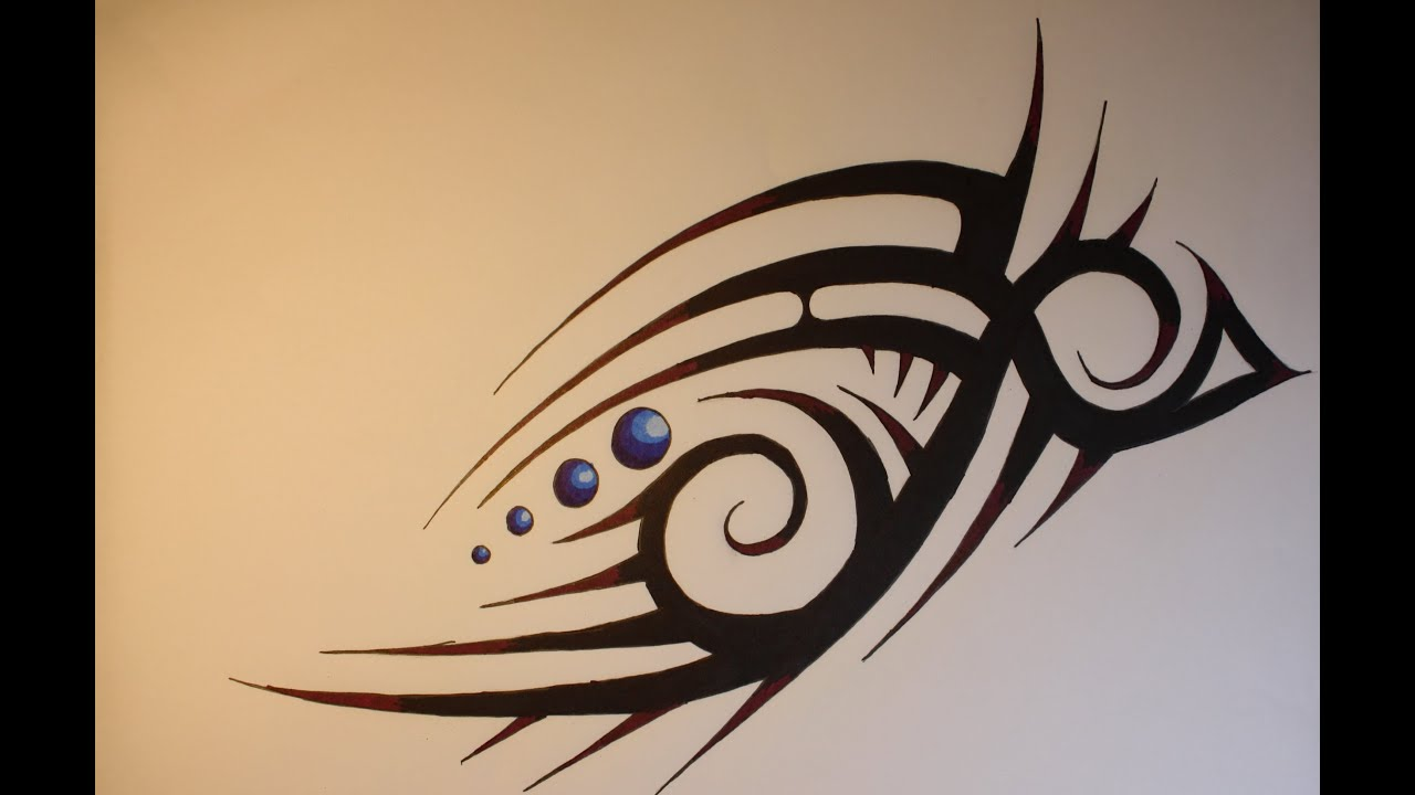 picture royalty free library Drawing random tribal. A