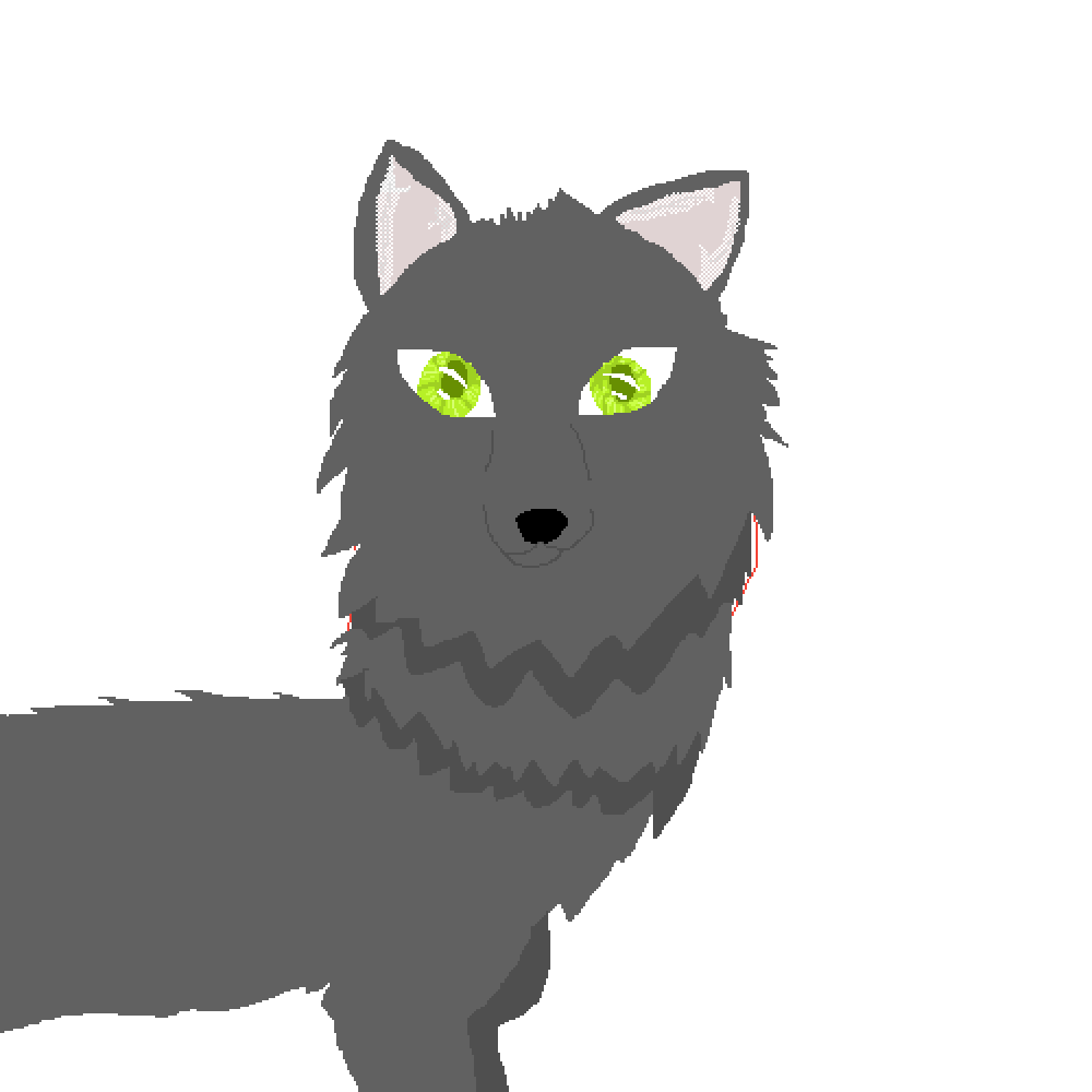 svg library library Drawing random wolf. Pixilart by turkey cupcakes