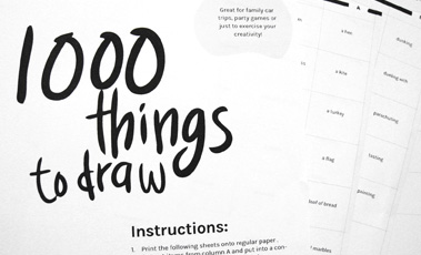 image library download Drawing randomizer easy.  things to draw