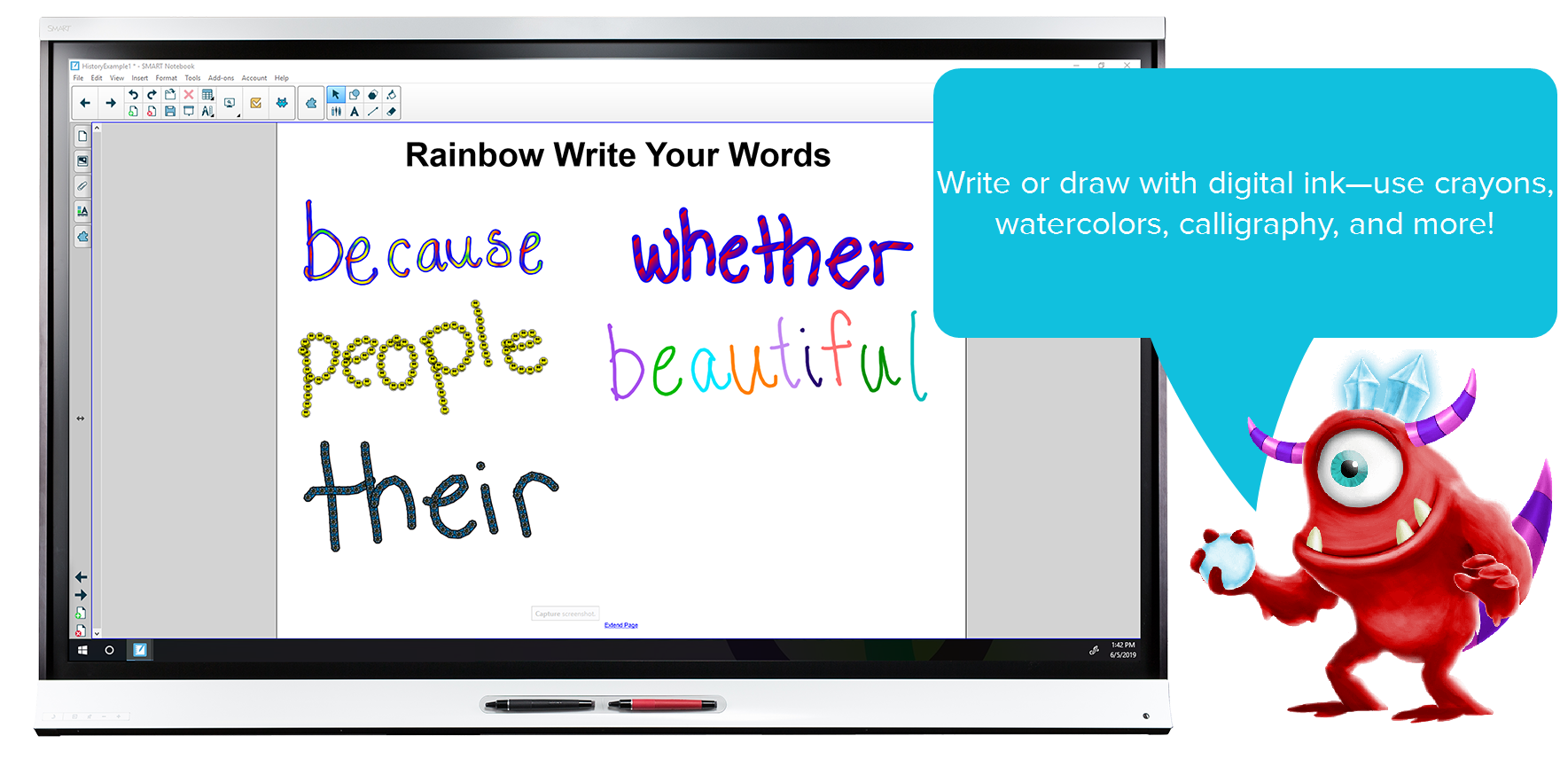 clipart library library Smart learning suite teacher. Drawing randomizer notebook