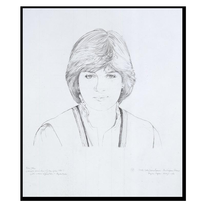 free download Drawing randomizer portrait. Of diana princess wales
