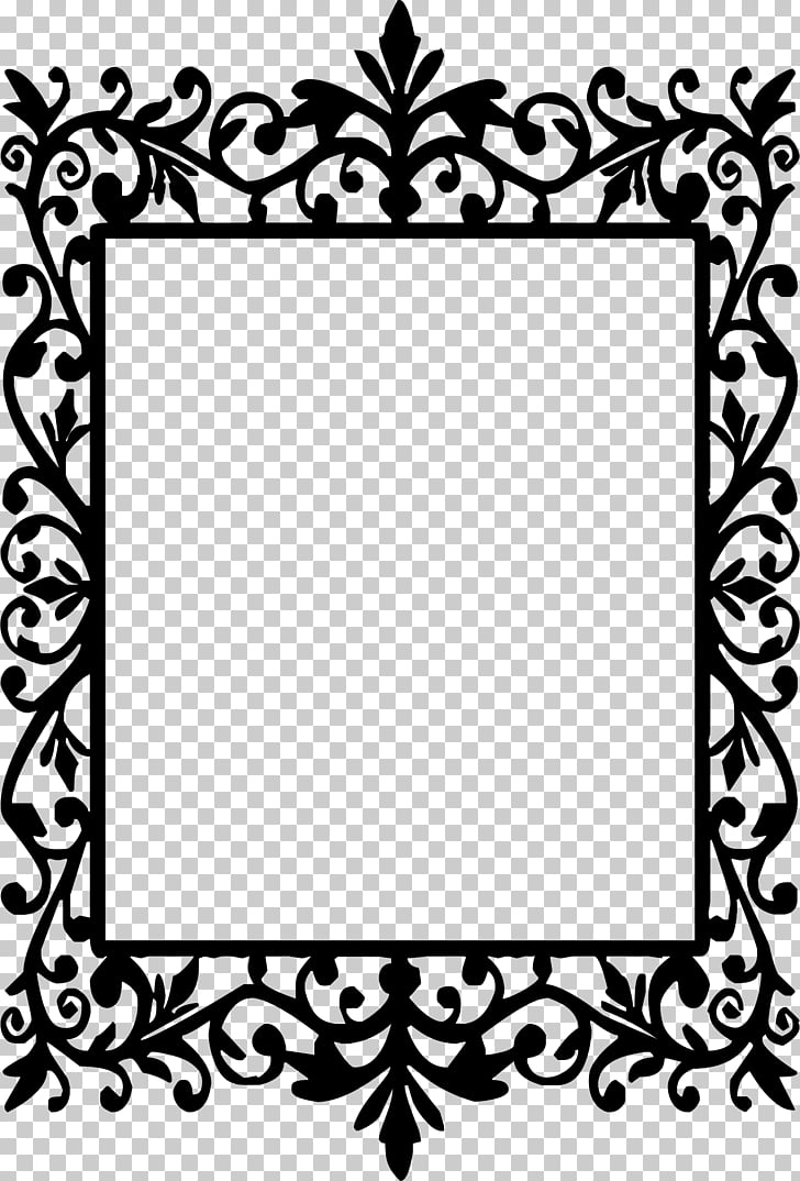 image black and white stock Drawing rectangle frame. Frames silhouette round rectangular