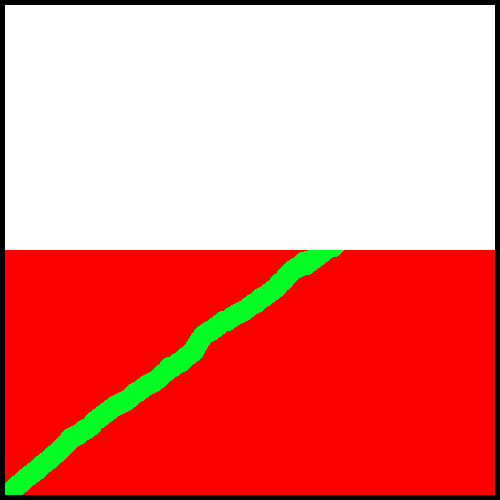 royalty free Android how to draw. Drawing rectangle red