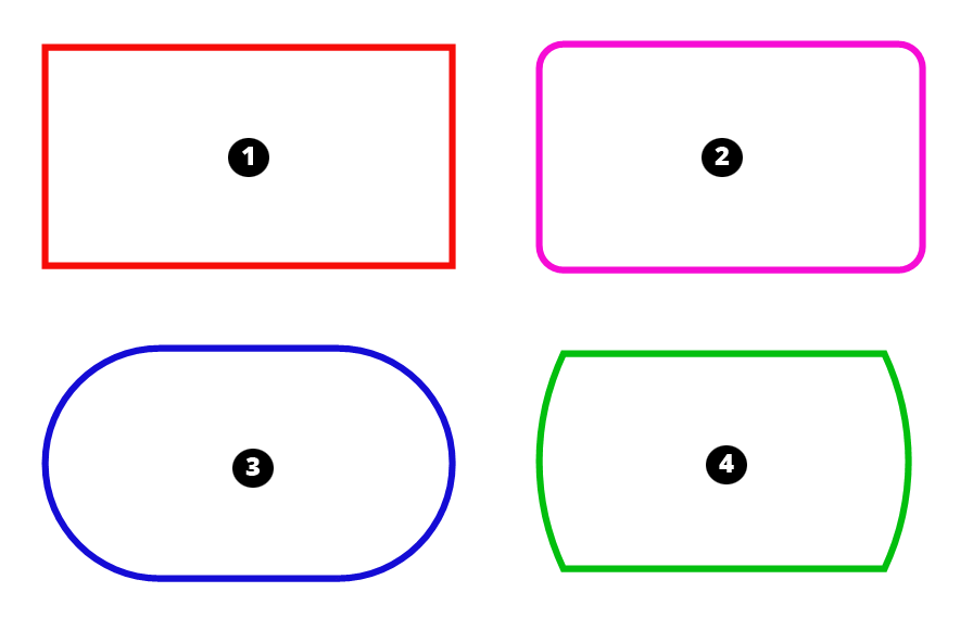 clipart transparent Drawing rectangle rounded corner. Making rectangles sketchup help