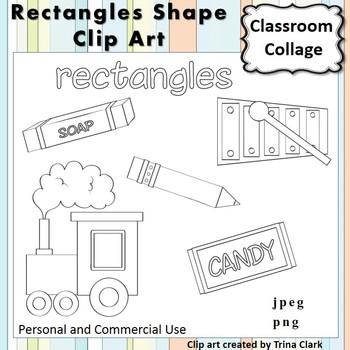 clip free stock Drawing rectangle shape. Clip art line b