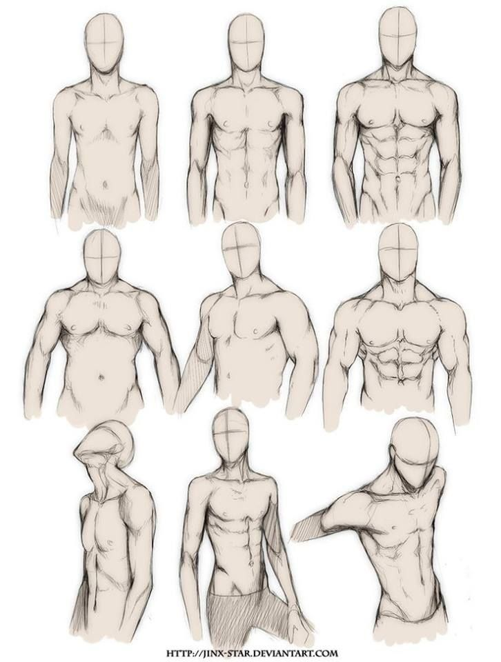 free library Drawing ref muscle. Body in guy
