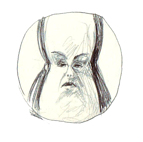picture royalty free library Drawing reflections face. Funny autoportraits on behance
