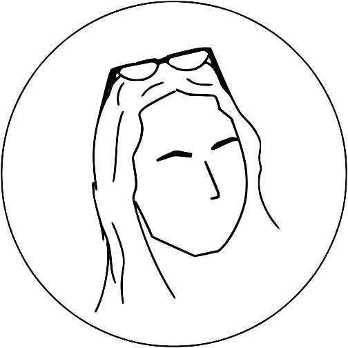 clip art free download Hustle and self care. Drawing reflections face