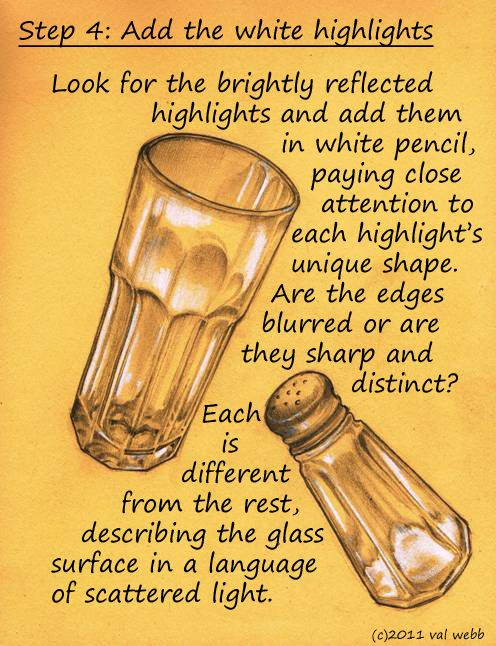 clipart transparent Tutorial on art lessons. Drawing reflections glass reflection